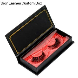 Mink Lashes Custom Package Private Label DL061
