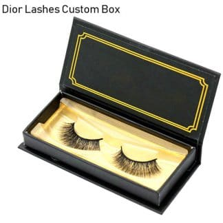 Mink Lashes Custom Package Private Label DL062
