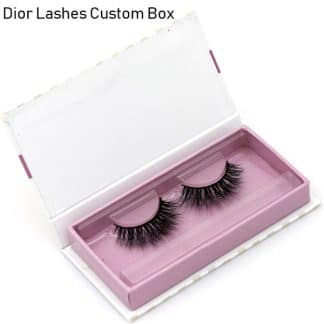 Mink Lashes Custom Package Private Label DL064