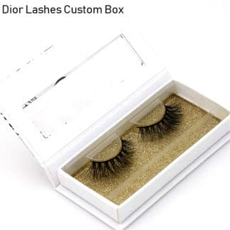 Mink Lashes Custom Package Private Label DL065