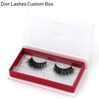 Mink Lashes Custom Package Private Label DL066