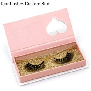 Mink Lashes Custom Package Private Label DL068