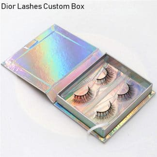 Mink Lashes Custom Package Private Label DL070