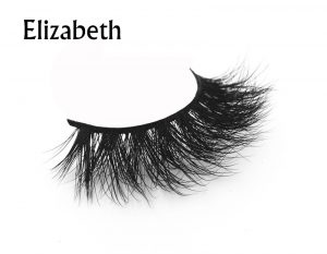 HOLES 3D Mink Lashes, Shiny Mink Eyelash, Real Fur Hand Made False Eyelashes