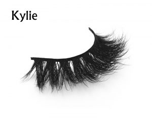 Soft new design mink fur fake eye lash false eyelashes real mink 3D strip lashes