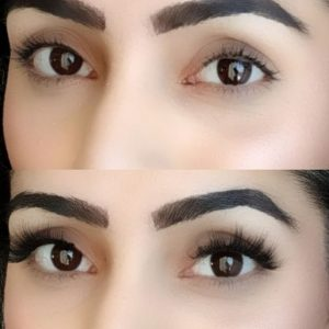 The basic way of Apply 3D Mink Lashes wearing