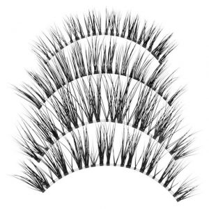 How to draw eyeliner When you apply false mink eyelashes ?
