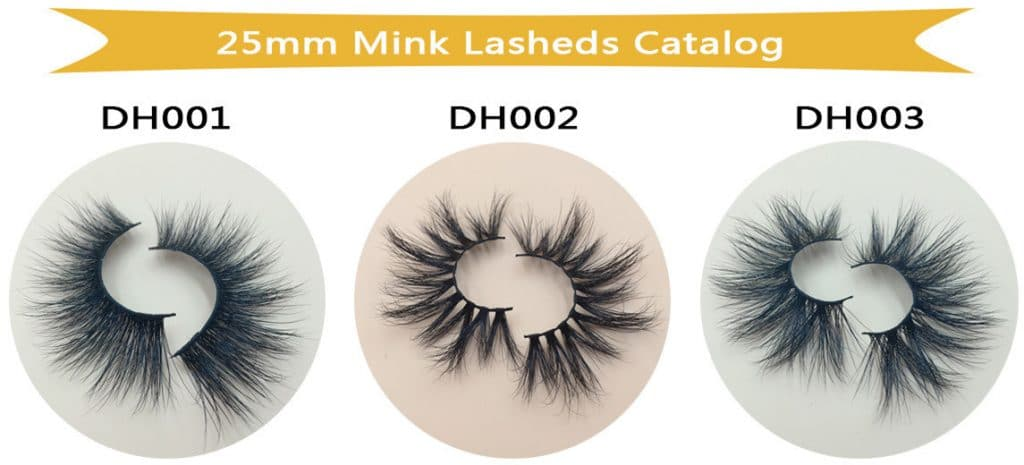25mm mink lashes Wholesale Vendor series