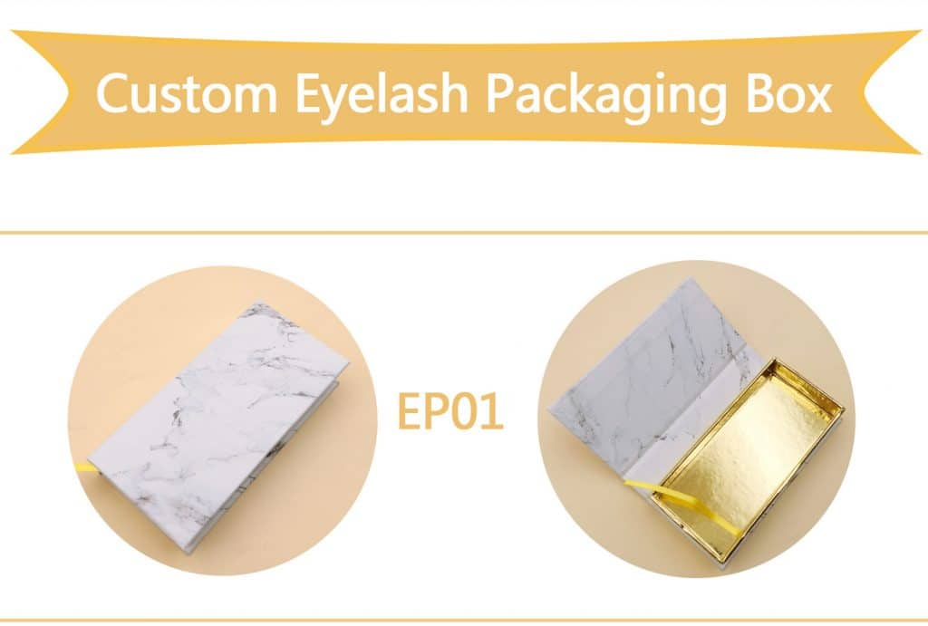 Custom Eyelash Packaging Box wholesale vendors