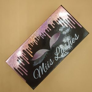 drop Liquid Custom Eyelash Packaging Boxes