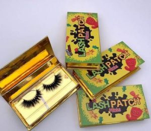Candy custom eyelash boxes