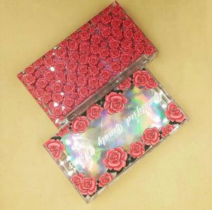 RED ROSE custom eyelash boxes (7)