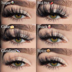 Comfortable fluffy mink eyelashes