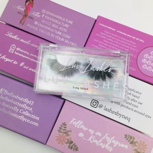 Customized Private Logo Mink Eyelashes Packaging Box