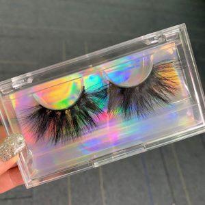 Clear Free Eyelash Packaging