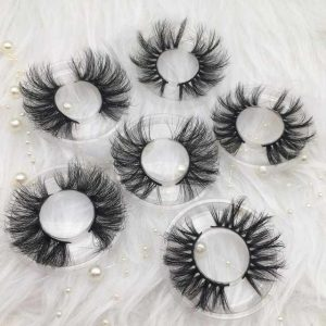 25MM Long Dramatic Mink Lashes