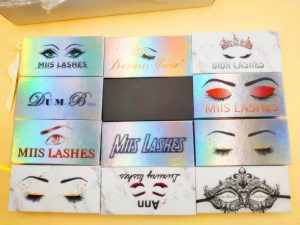 Design The Custom Eyelash Packaging