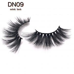 Best selling 22MM mink eyelashes DN09
