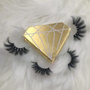 Customized eyelash box