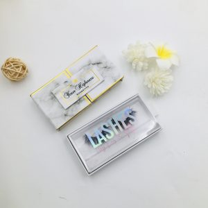 custom eyelash packaging with logo