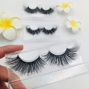 luxurious messy mink eyelashes