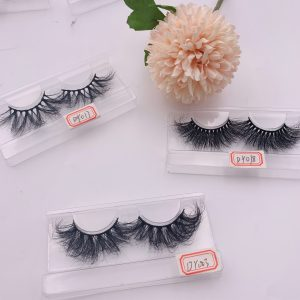 Handmade 3d luxury mink eyelashes