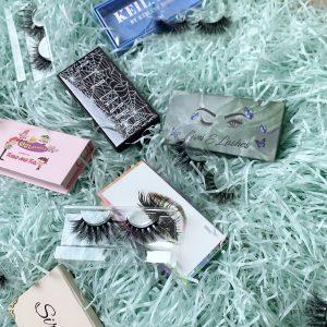 eyelash box wholesale