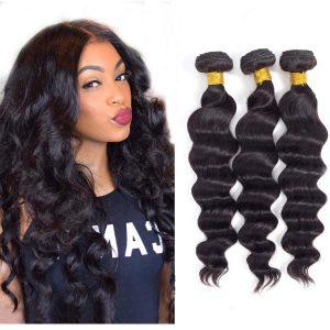 Brazilian Virgin Hair Loose Deep Wave Bundles