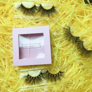 eyelash box design